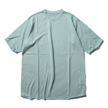 DESCENTE PAUSE / デサントポーズ | MERINO WOOL H/S T-SHIRT - Emerald Blue
