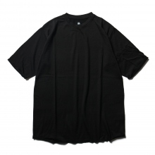 DESCENTE PAUSE / デサントポーズ | MERINO WOOL H/S T-SHIRT - Black