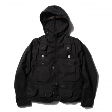 【Point 10% 5/26まで】....... RESEARCH | Game Pocket Hoody - Black