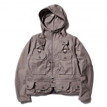 【Point 10% 5/26まで】....... RESEARCH | Game Pocket Hoody - Gray