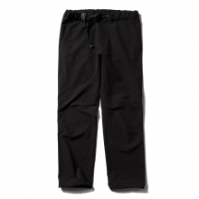 and wander / アンドワンダー | 2way stretch long pants - Black