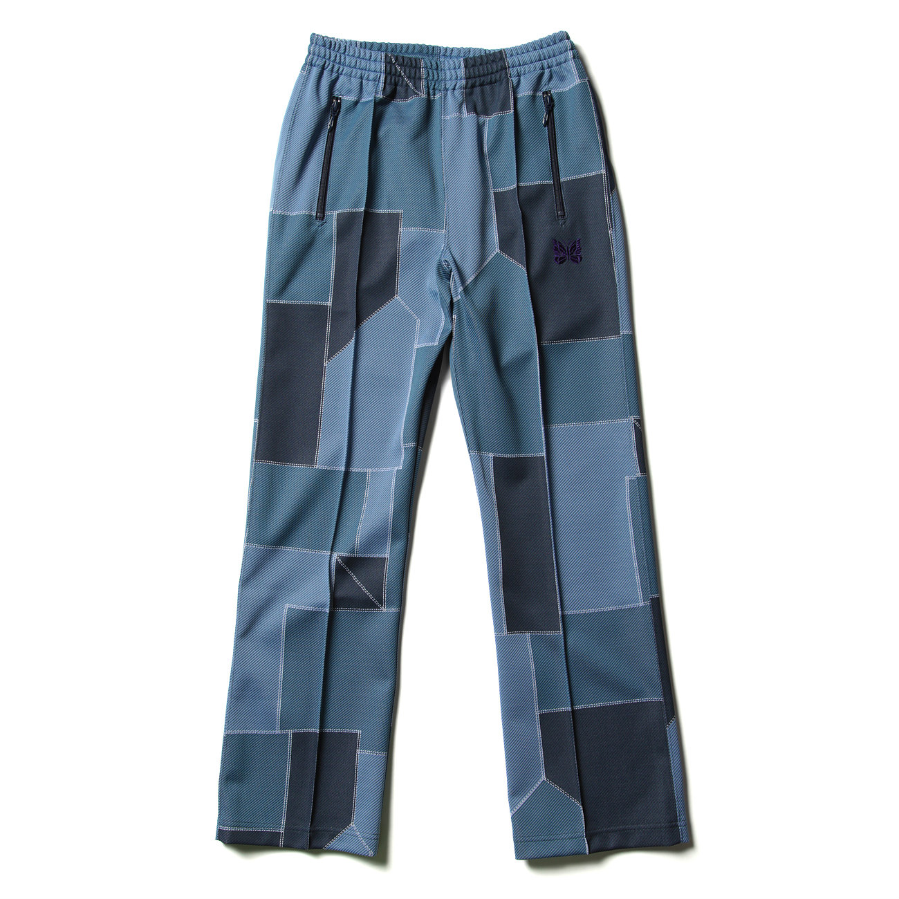 Track Pant - Poly Jq. - Patchwork