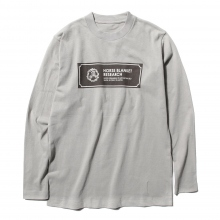 ....... RESEARCH | H.B.R. Tee L/S - Gray