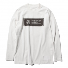 ....... RESEARCH | H.B.R. Tee L/S - White