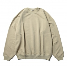 AURALEE / オーラリー | SUPER SOFT SWEAT BIG P/O - Gray Beige