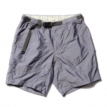 and wander / アンドワンダー | dry typewriter short pants - Navy