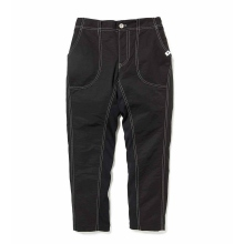 and wander / アンドワンダー | 60/40 cloth rib pants - Black