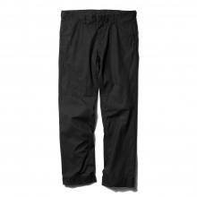 ....... RESEARCH | Piped Stem Pants - Black ☆