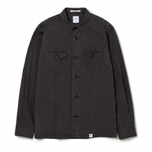 BEDWIN / ベドウィン | L/S MILITARY SHIRT FD 「CLIFF」 - Charcoal