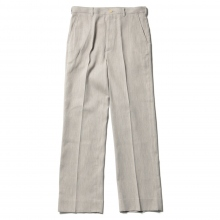AURALEE / オーラリー | COTTON WOOL DOUBLE CLOTH SLACKS - Yaku Top Gray