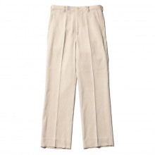 AURALEE / オーラリー | COTTON WOOL DOUBLE CLOTH SLACKS - Camel Top Beige