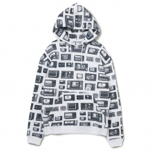 BEDWIN / ベドウィン | L/S PULLOVER HOODED SWEAT 「DAVID」 - White
