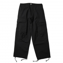 ....... RESEARCH | Cargo Pants w/3D Knees - Black