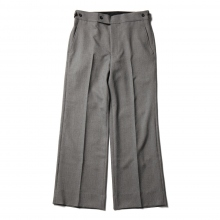 Needles / ニードルズ | Side Tab Trouser - Poly Chambray - Grey