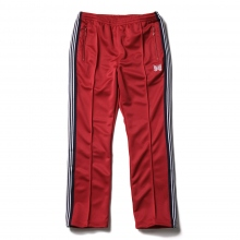 Needles / ニードルズ | Narrow Track Pant - Poly Smooth - Red