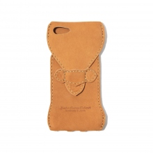 ROBERU / ロベル | iPhone 7 Case Water-repellent nubuck leather - Camel