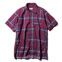 ENGINEERED GARMENTS / エンジニアドガーメンツ | Camp Shirt - Afghan Print - Nvy/Red