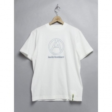 ....... RESEARCH | Mountain A - Blue Outline - White