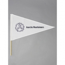 ....... RESEARCH | Pennant Flag - Wreath - White