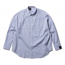 N.HOOLYWOOD / エヌハリウッド | 2201-SH08-005-peg B.D BIG SHIRT - Blue Stripe
