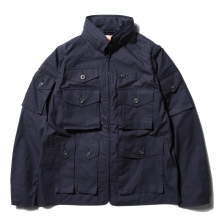 【Point 10% 5/26まで】....... RESEARCH | Game Pocket Jacket - Navy