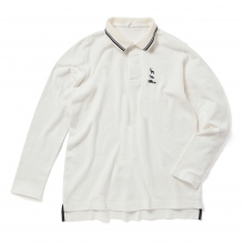 ....... RESEARCH | Animal Polo L/S - White