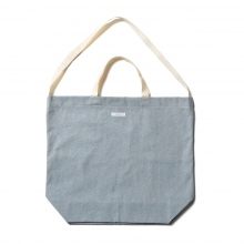 ENGINEERED GARMENTS / エンジニアドガーメンツ | Carry All Tote - Upcycled Denim - Blue
