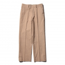 AURALEE / オーラリー | HEMP CORDUROY SLACKS - Pink Brown
