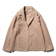 AURALEE / オーラリー | HEMP CORDUROY SHIRTS JACKET - Pink Brown
