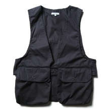 ENGINEERED GARMENTS / エンジニアドガーメンツ | Fowl Vest - High Count Twill - Dk.Navy