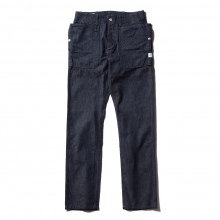 SASSAFRAS / ササフラス | FALL LEAF SPRAYER PANTS - 10oz Denim - Indigo ★