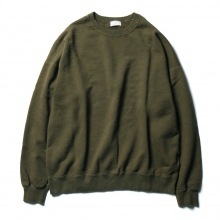 URU / ウル | CREW NECK SWEAT - Khaki