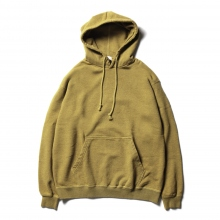 URU / ウル | HOODED SWEAT - Mustard