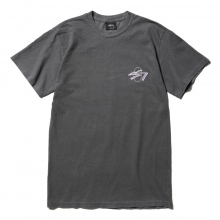 STUSSY / ステューシー | SS Oval Pig Dyed Tee - Black