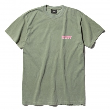 STUSSY / ステューシー | Global Pig Dyed Tee - Olive