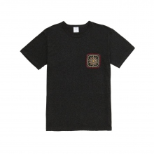 Mr.GENTLEMAN / ミスタージェントルマン | EMBROIDERED POCKET TEE - Black