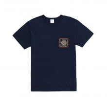 Mr.GENTLEMAN / ミスタージェントルマン | EMBROIDERED POCKET TEE - Navy