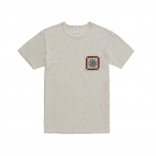 Mr.GENTLEMAN / ミスタージェントルマン | EMBROIDERED POCKET TEE - White