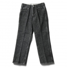 WESTOVERALLS / ウエストオーバーオールズ | 5 POCKET DENIM TROUSERS 817F - Bio Black