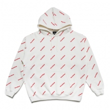 ELVIRA / エルビラ | BREAK  SLANTING HOODY - White~