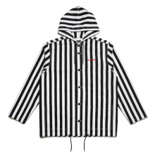 ELVIRA / エルビラ | BREAK  HOOD COACH'S JACKET - B (Stripe)~