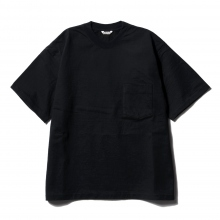 AURALEE / オーラリー | STAND-UP TEE - Navy Black