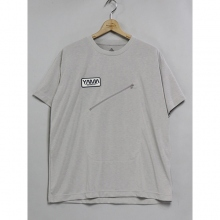 ....... RESEARCH | Back packer's Tee - 速乾 ビッグ - L.Gray