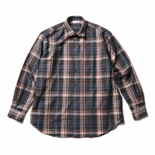 WELLDER / ウェルダー | WELLDER Standard Shirt - Green × Red Pane