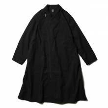 POPLIN RIDING COAT - Black