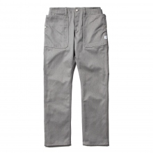 SASSAFRAS / ササフラス | FALL LEAF SPRAYER PANTS - T/C Twill 60/40 - Heather Gray ★
