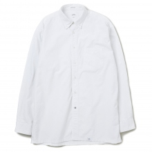 BEDWIN / ベドウィン | L/S BD OX SHIRT SUNFADED 「BRIAN」 - White