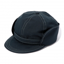 and wander / アンドワンダー | cotton nylon ox cap - Navy