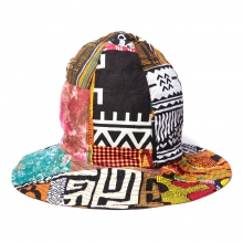 ENGINEERED GARMENTS / エンジニアドガーメンツ | Dome Hat - African Print - Patchwork