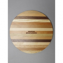 ....... RESEARCH | Anarcho Cups - 073 Onewood Lid (for Plate) - Beige × Brown